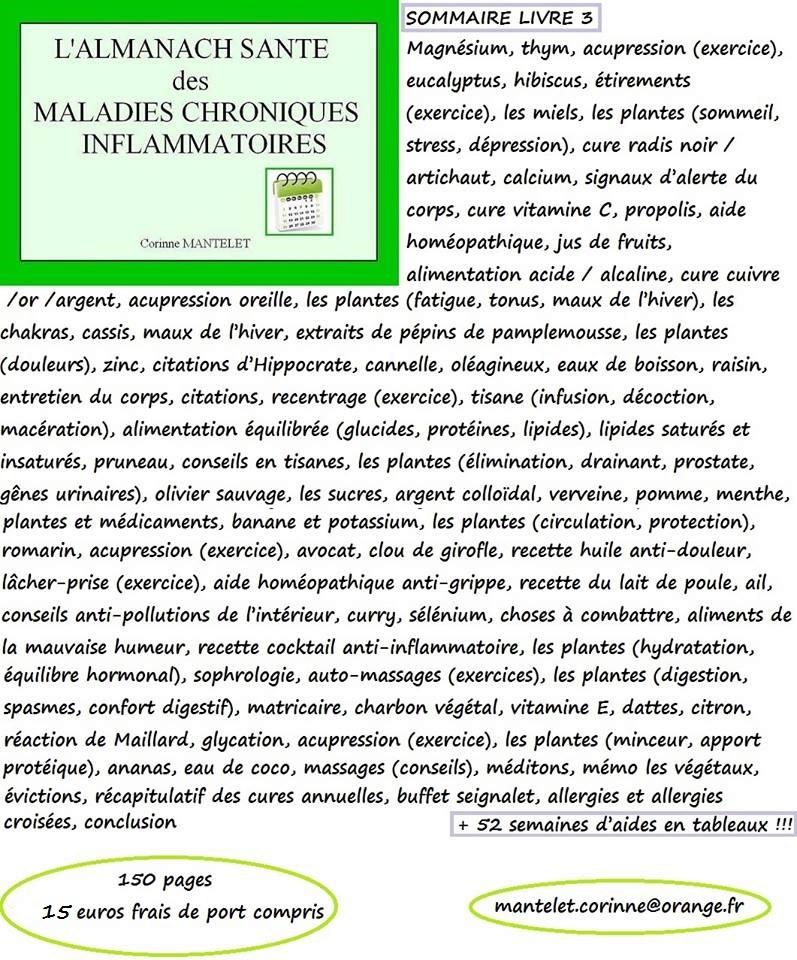 L'almanach explicatif de votre santé  12512310