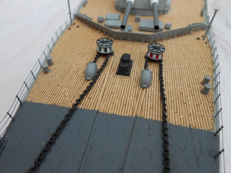 Cuirassé Bismarck au 1/200 Dscn7527