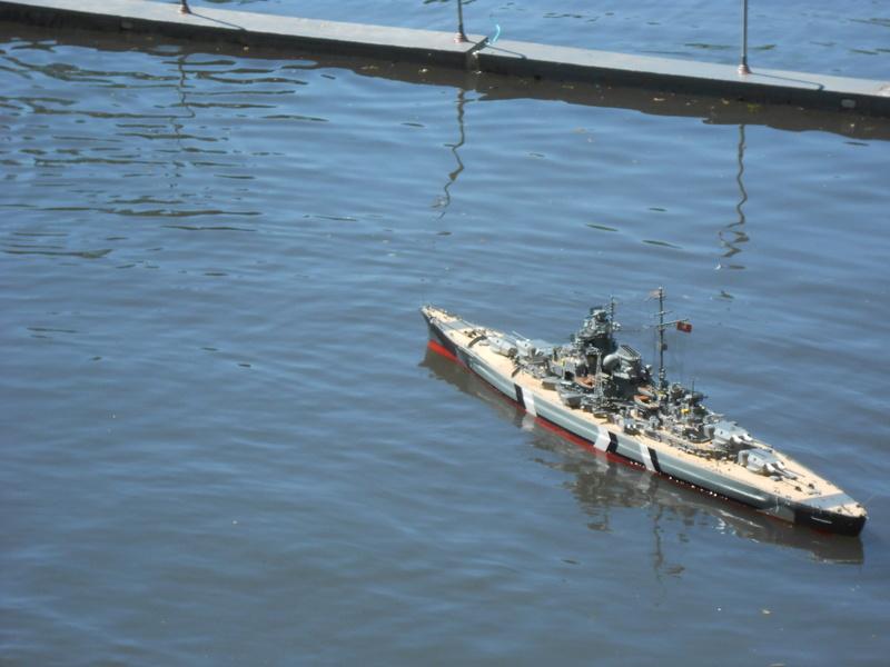 Cuirassé Bismarck au 1/200 Dscn7813