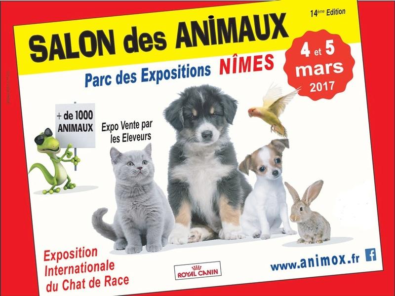 Salon des animaux et de la nature à Nîmes 4/5 MARS 2017 Vignet10