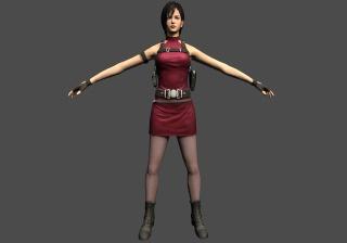 Resident Evil 2 Reborn HD. Ada10