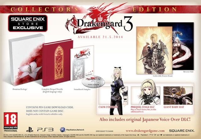 La nouvelle tendance des coffret collector sans jeux en support physique Draken10