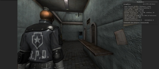 Resident Evil 2 Reborn HD. Statco10