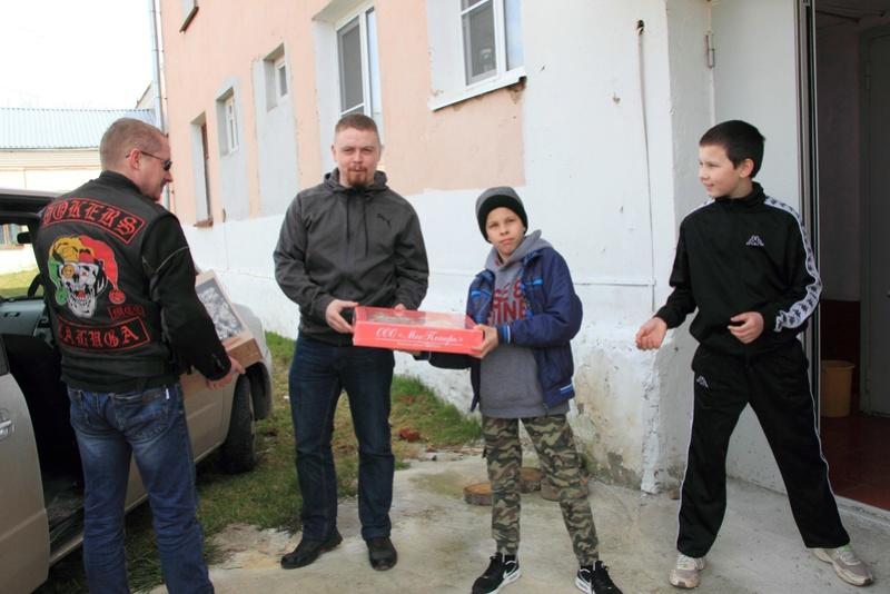 Благотворительный выезд в Редькино.  Zrzeot10