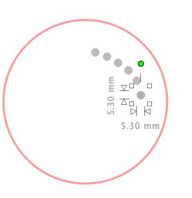 partager cercle - un cercle avec une couronne de points? Captur10