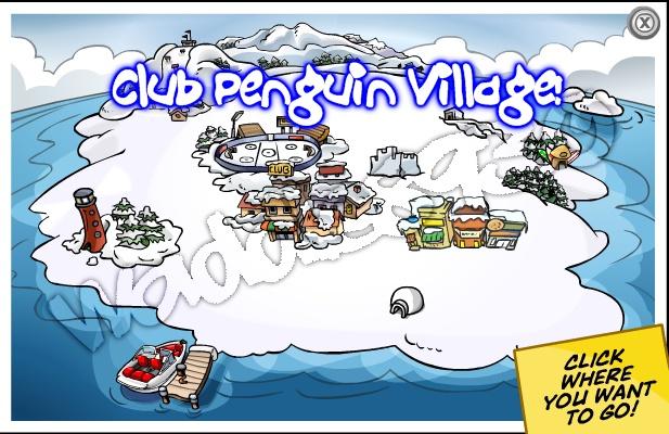 Club Penguin Village Cpv11