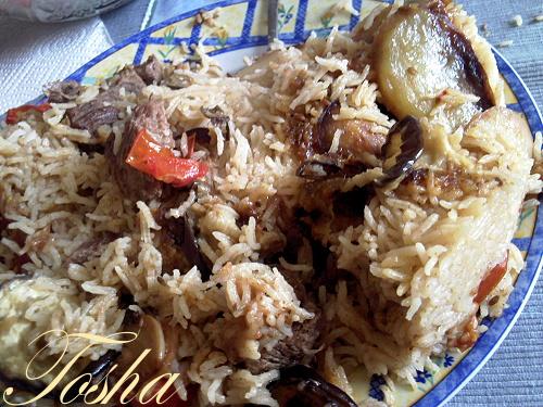 - Маклюбе с мясом. Арабская кухня Photo-14