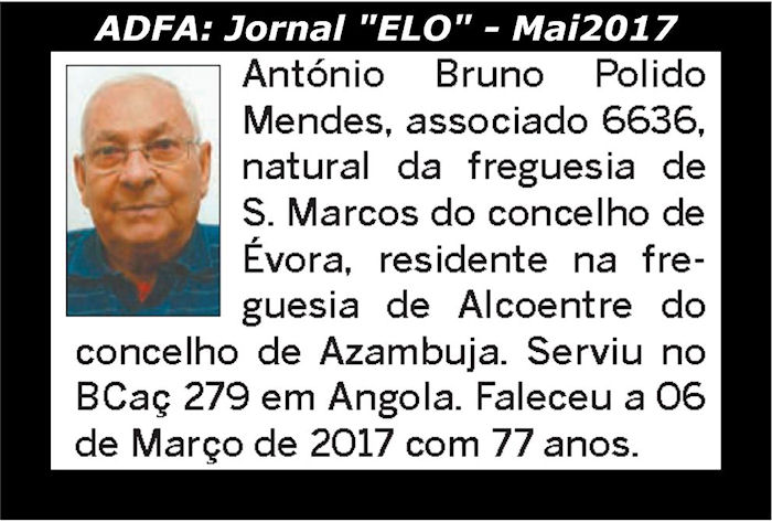 Notas de óbito publicadas no jornal «ELO», da ADFA, de Maio de 2017 Antyni11