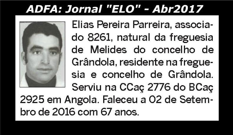 Notas de óbito publicadas no jornal «ELO», da ADFA, de Abril de 2017 Elias_10