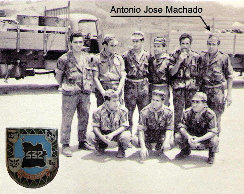 Faleceu o veterano António José Machado, 1.º Cabo Condutor, da CCS/BCac532 - 26Mai2017  Foto_b11