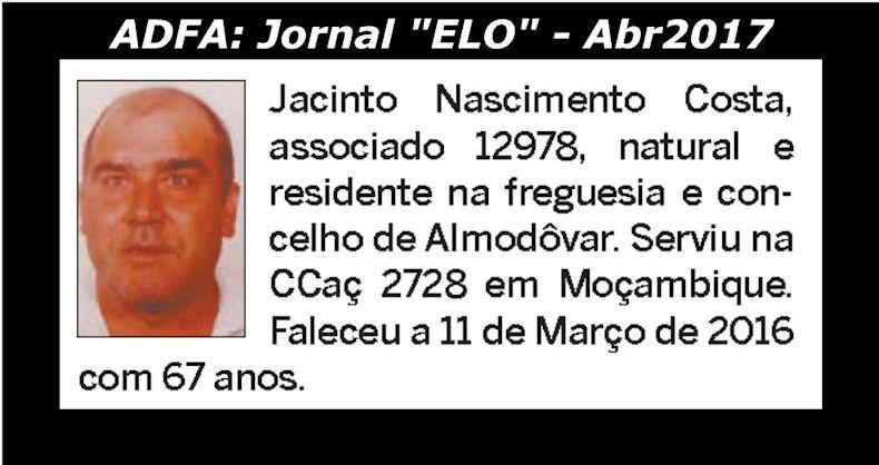 Notas de óbito publicadas no jornal «ELO», da ADFA, de Abril de 2017 Jacint10
