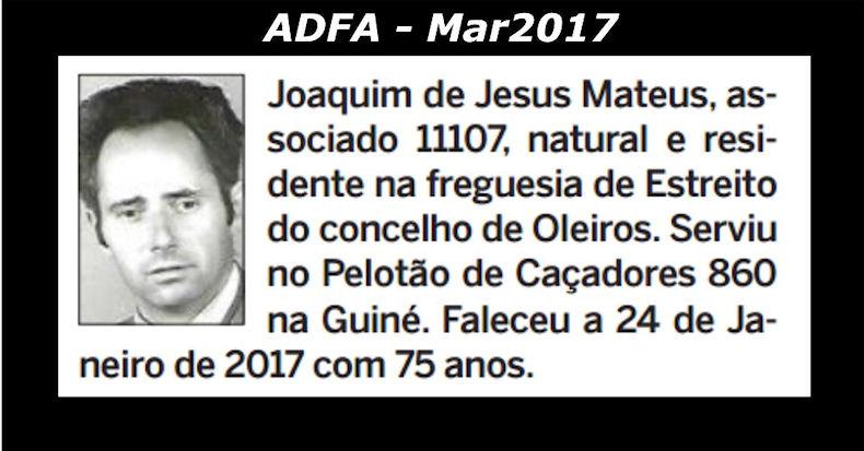 Notas de óbito publicadas no jornal «ELO», da ADFA, de Março de 2017 Joaqui10