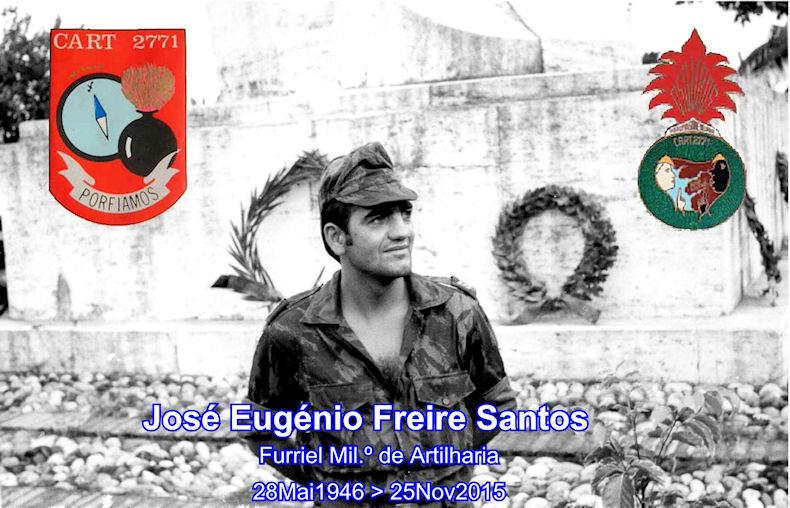 Faleceu o veterano José Eugénio Freire Santos, Furriel Mil.º, da CArt2771/BArt2924 - 25Nov2015 Josy_e12