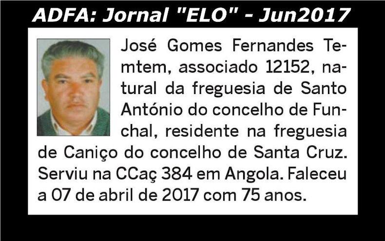Notas de óbito publicadas no jornal «ELO», da ADFA, de Junho de 2017 Josy_g10
