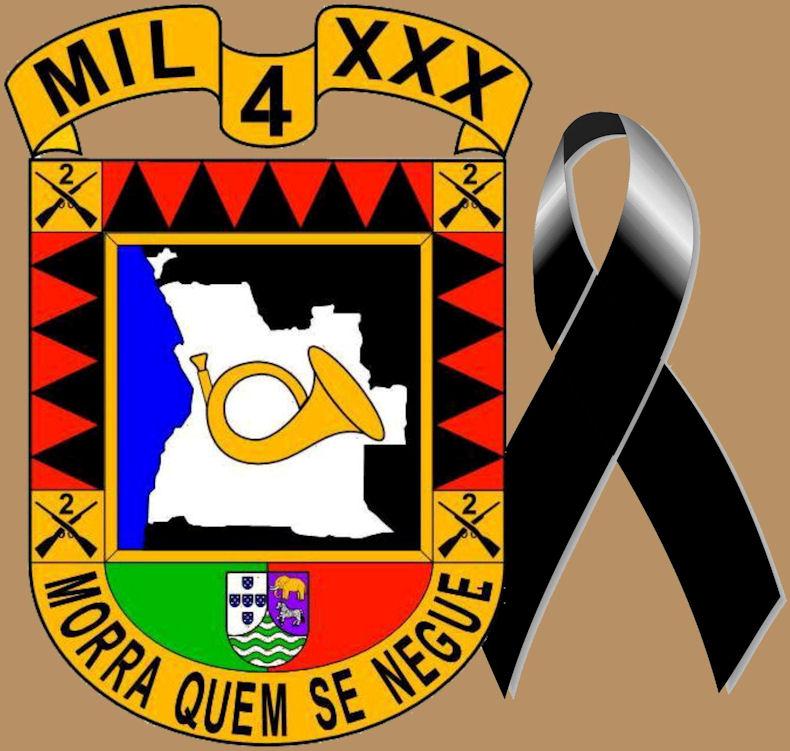 Faleceu o veterano João Ribeiro Barçais, Soldado Atirador, da CCac1430 - 16Nov2016 Logo_l10