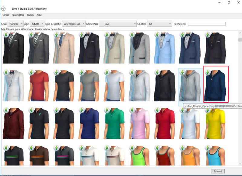 [Atelier de création de vêtement] Partie 1 : Recoloration simple Lin10