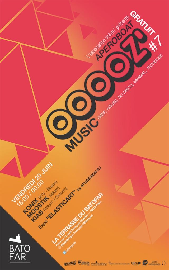 OOOOZ' Music # 7: Terrasse du Batofar: Mixs et expo - 20/06/ Ooooz_13