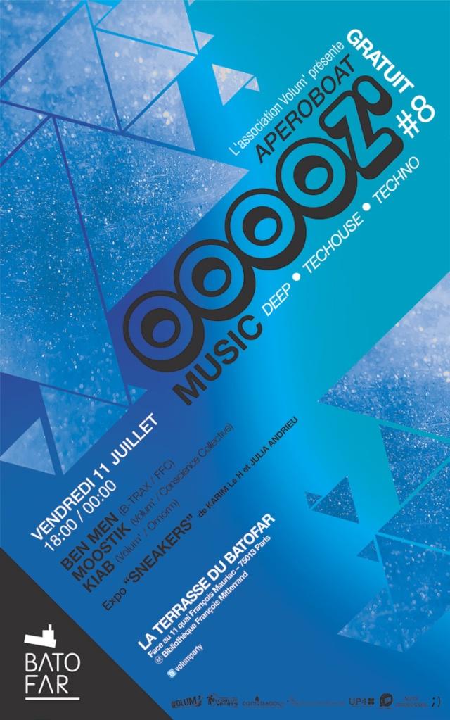 OOOOZ' Music # 8: Terrasse du Batofar: 11/07/14: mixs / expo Ooooz_14