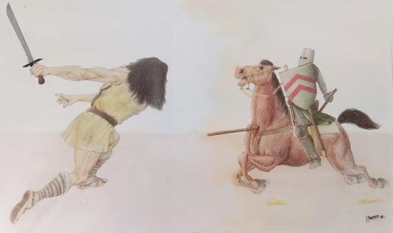 El ALMOGÁVAR del PRÍNCIPE de MOREA Almoga19