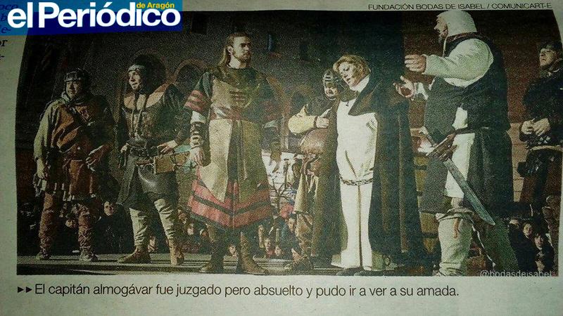 CAMPAMENTO de RECREACIÓN Bodas de Isabel de Segura 800 aniversario AMANTES Capity10