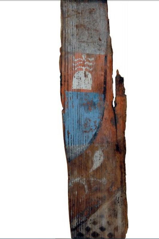 Descubren las pinturas de una techumbre del siglo XIII en Lagrasse Screen20