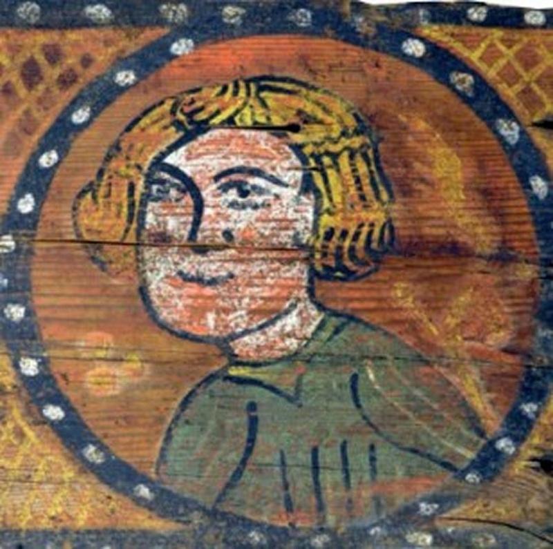 Descubren las pinturas de una techumbre del siglo XIII en Lagrasse Screen21