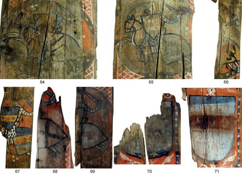 Descubren las pinturas de una techumbre del siglo XIII en Lagrasse Screen22