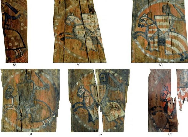 Descubren las pinturas de una techumbre del siglo XIII en Lagrasse Screen24
