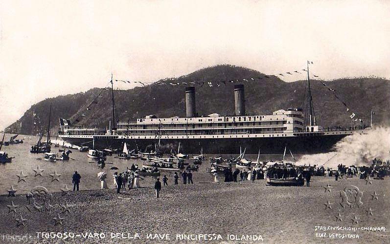 'Principessa Jolanda' - Lloyd Italiano - 1907 3_nave10