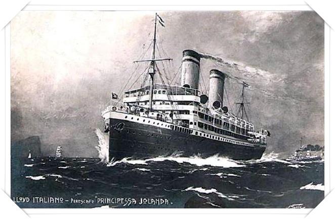 'Principessa Jolanda' - Lloyd Italiano - 1907 Fafan10