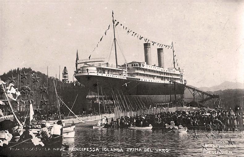 'Principessa Jolanda' - Lloyd Italiano - 1907 Nave_p11