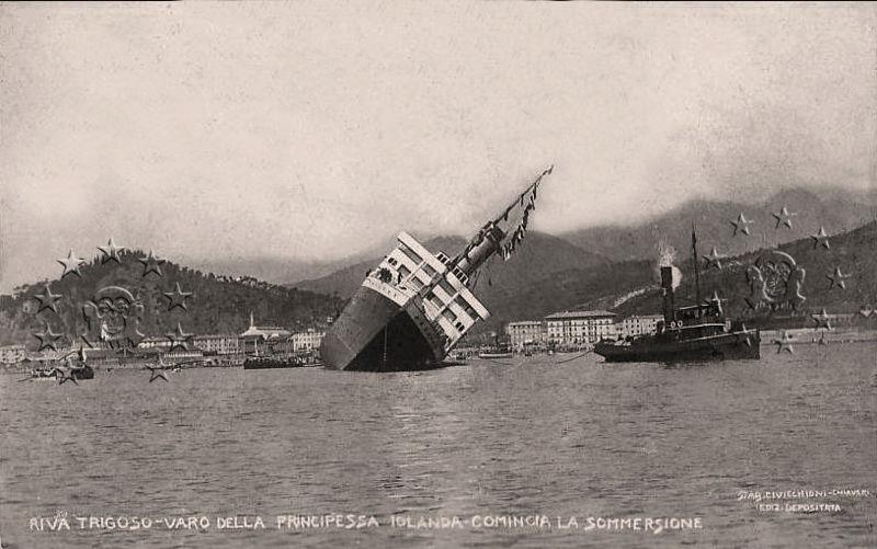 'Principessa Jolanda' - Lloyd Italiano - 1907 Nave_p17