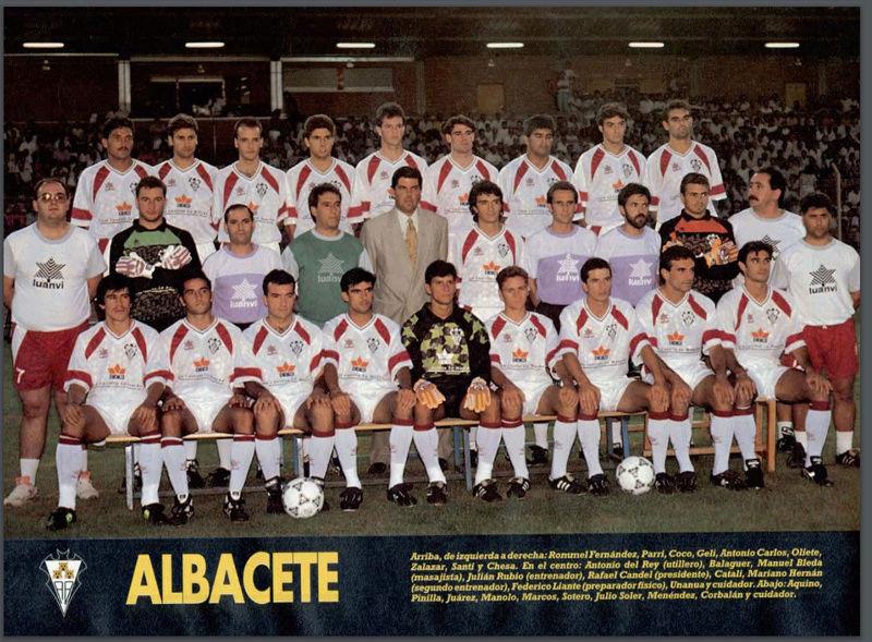 Albacete Balompié 92-93 Zarago12