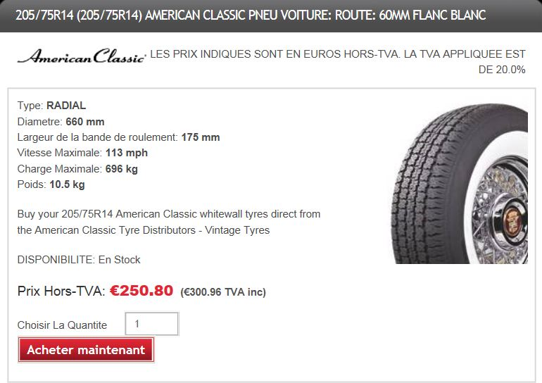 Vintage Tyres - pneus pour véhicules de collection Vintag10