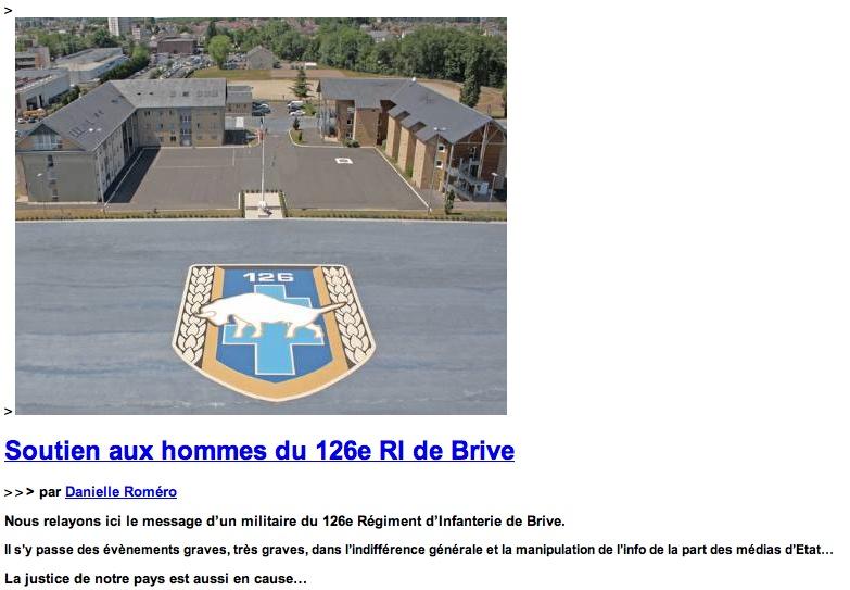 Il faut que ça se sache - Soutien au hommes du 126e RI de Brives Brive_10