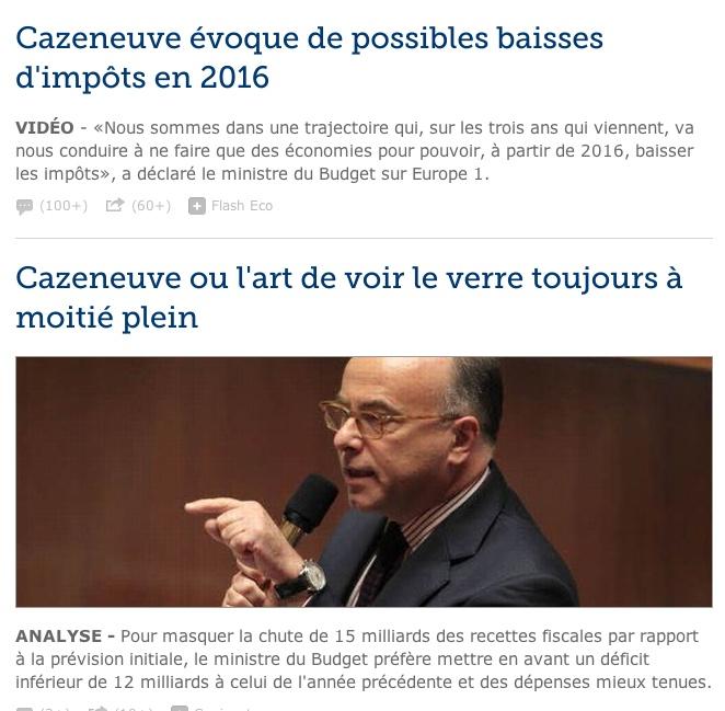 Si ce n'est pas prendre les français pour des imbéciles. Clicha58