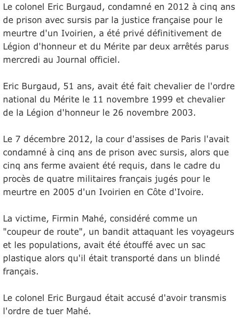 Dans le Figaro aujourd'hui. Colone10