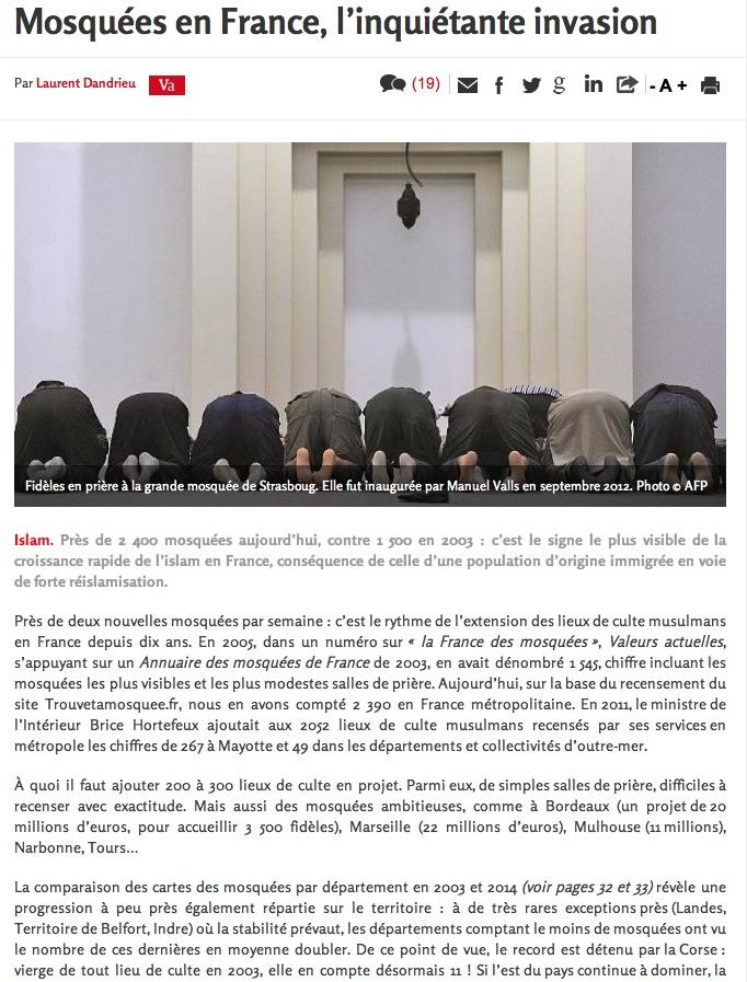 On détruit des églises, on construit des mosquées. Mosqua12