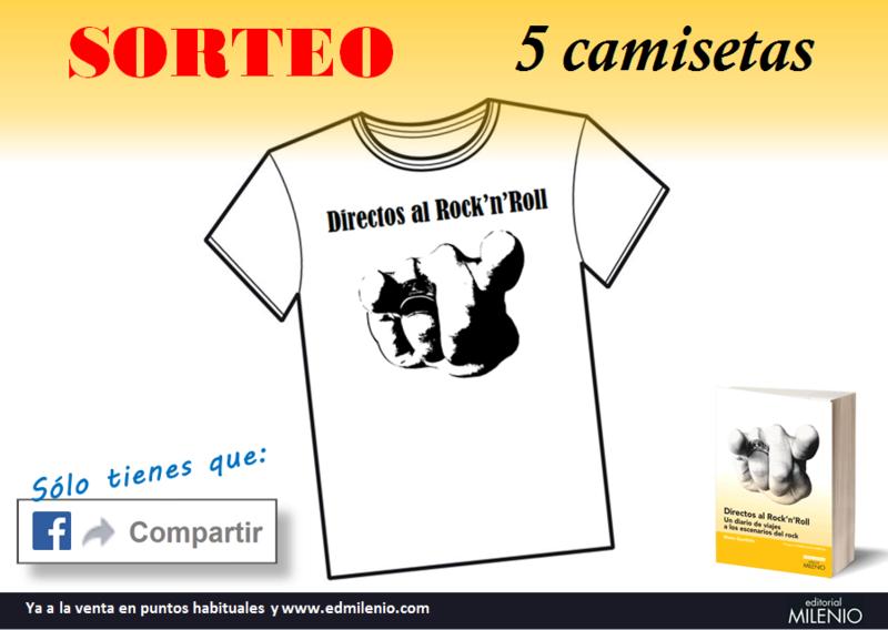 DIRECTOS AL ROCK'N'ROLL (Libro. Editorial Milenio) - Página 2 Sorteo10