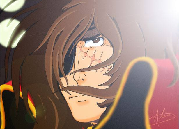 Albator / Captain Harlock : Fan-arts. - Page 38 Harloc12