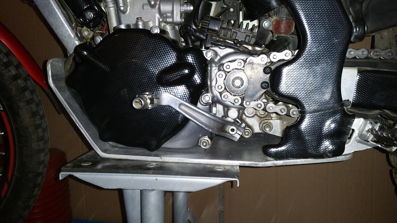 Fabrication sabot moteur pour 4rt 20170312