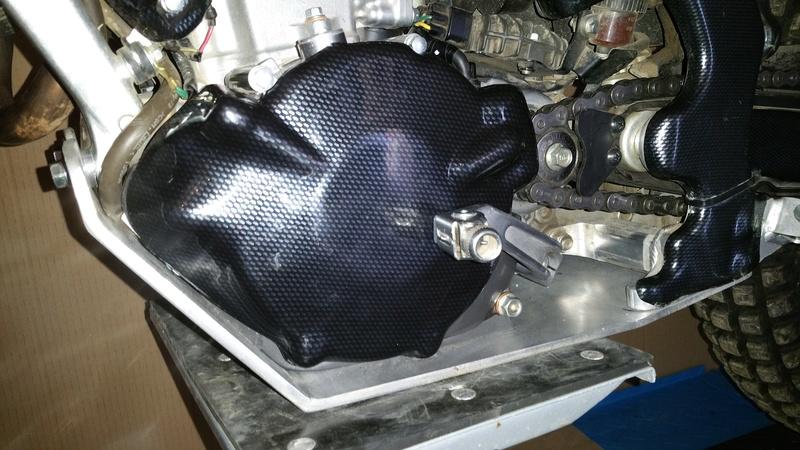 Fabrication sabot moteur pour 4rt 20170313