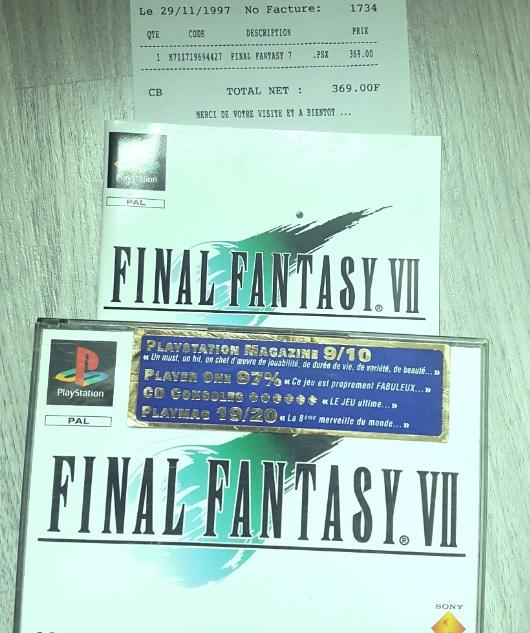 Il y a 22 ans...Final Fantasy VII Ff710
