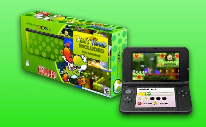 Nouvelle 3DS collector Yoshi! 98557010