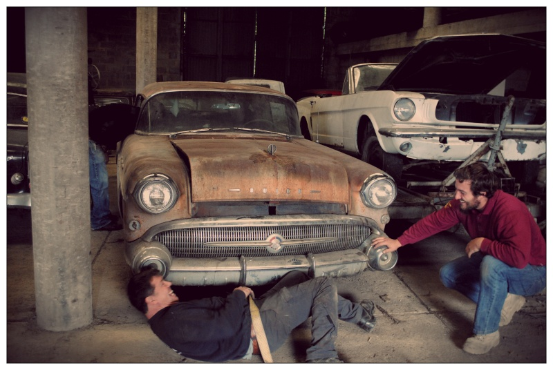1 journee au pays des Asphalt Burners TRC  Buick610