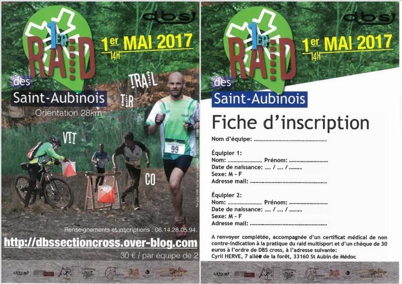 1 mai 2017 1° Raid des Saint Aubinois 1craid12