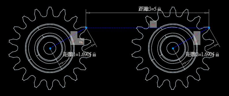 [練習]AutoCAD 3D 參數式約束範例 011510