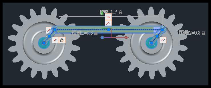[練習]AutoCAD 3D 參數式約束範例 011610