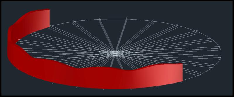 [討論]請問各位前輩,弧形曲面的3D要如何才能畫得出來? 015510