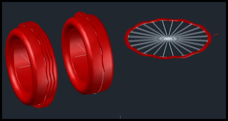[討論]請問各位前輩,弧形曲面的3D要如何才能畫得出來? 015610